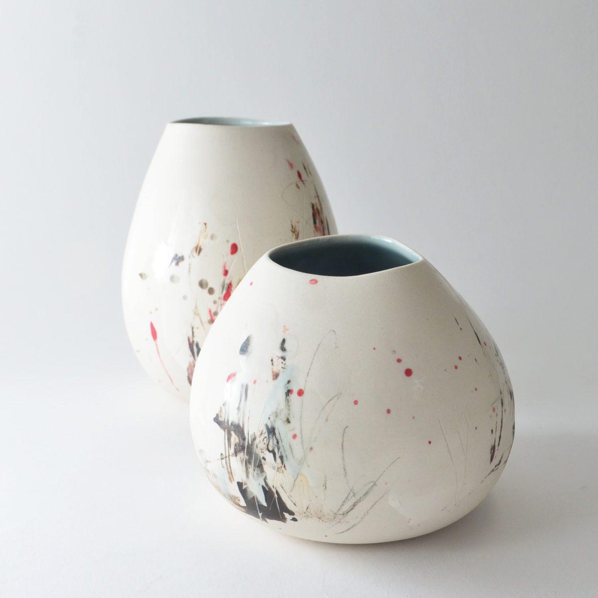 Studio Joo Altered short vase ceramic entertaining indulge in the pursuit