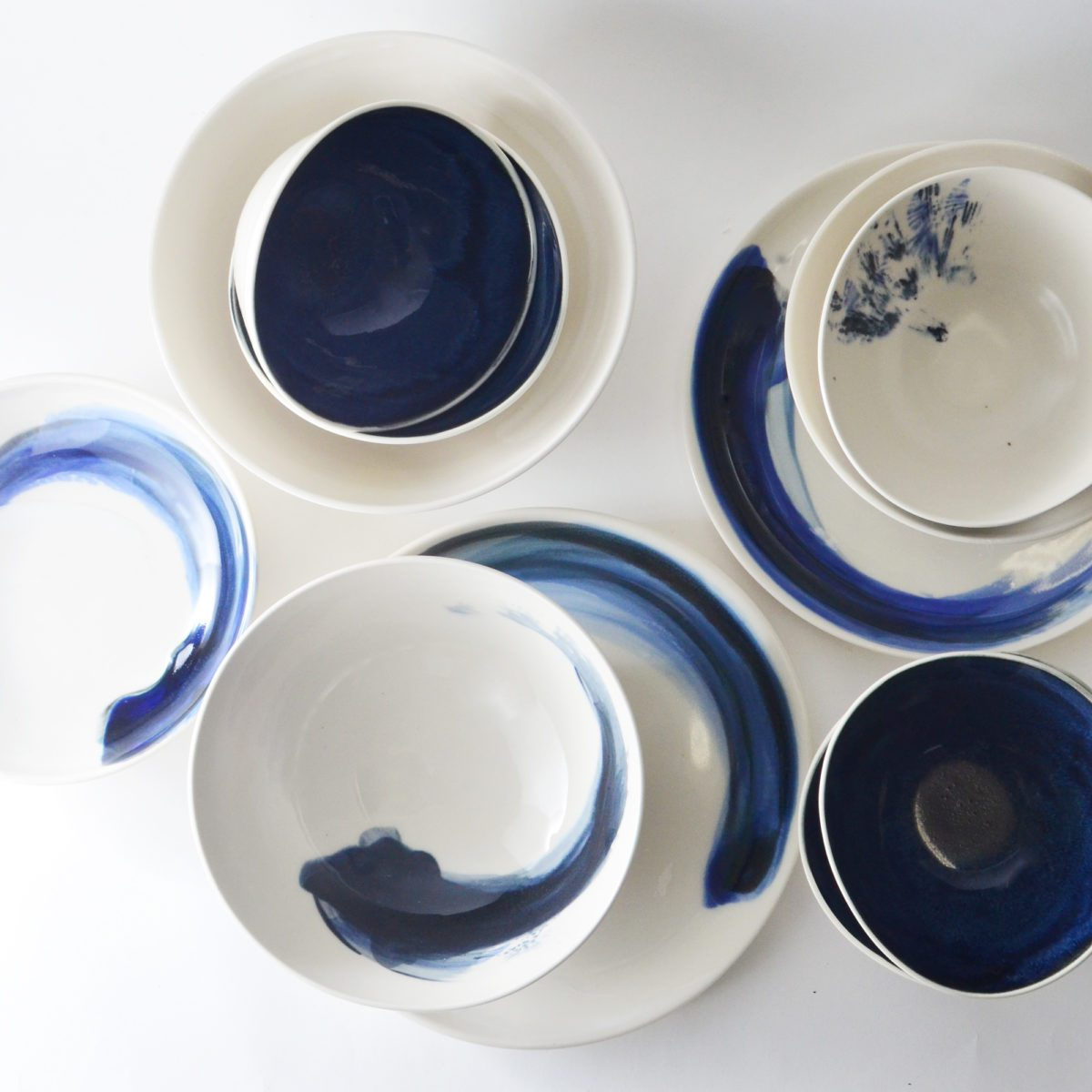 Studio Joo Indigo Platter dish entertaining indulge in the pursuit