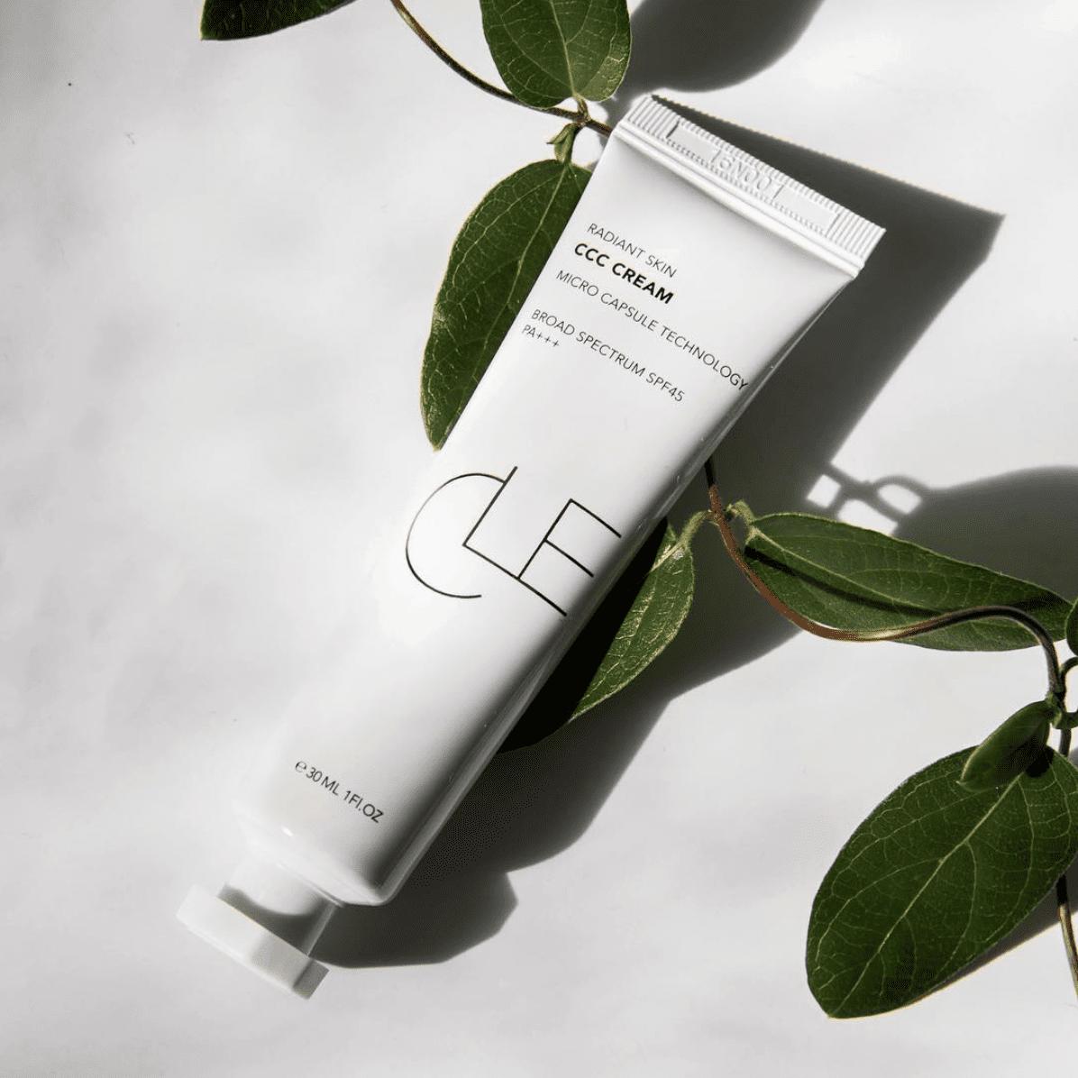 CCC Cream clé cosmetics beauty refresh skincare in the pursuit