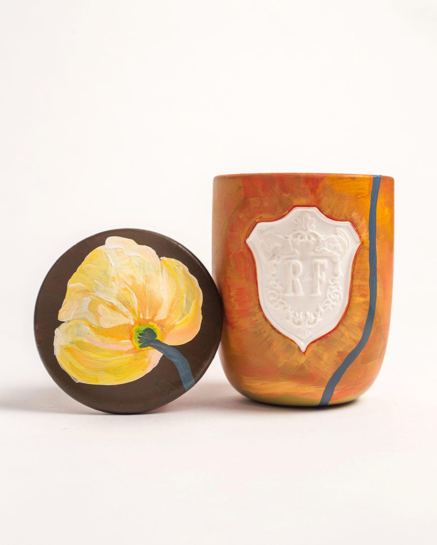 Voutsa x Regime des Fleurs Artefact Hand-Painted Candle Return scent fragrance in the pursuit