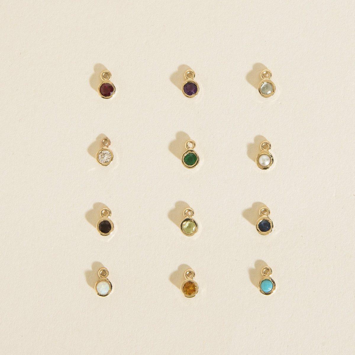 Birthstone Charm Haati Chai jewelry fashion wear in the pursuit