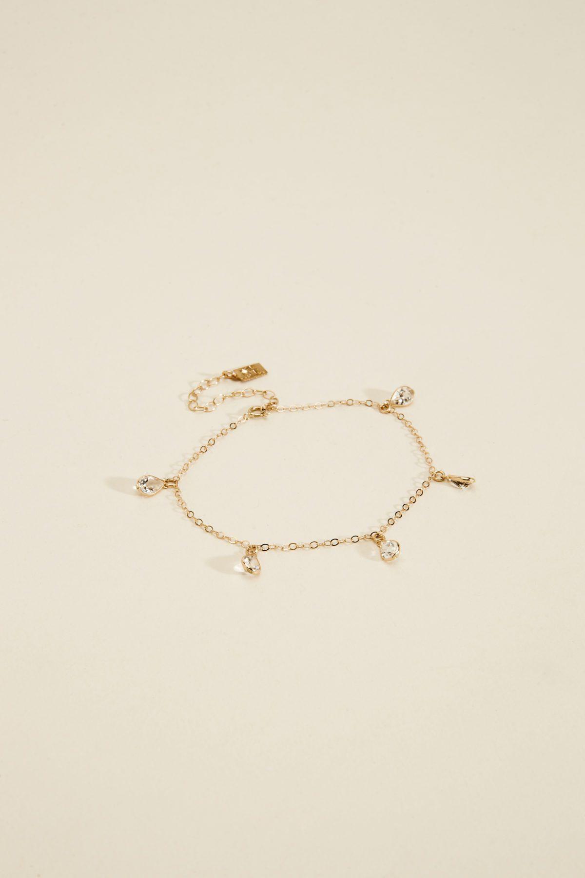 Alessandra Bracelet Haati Chai jewelry wear fashion los angeles in the pursuit
