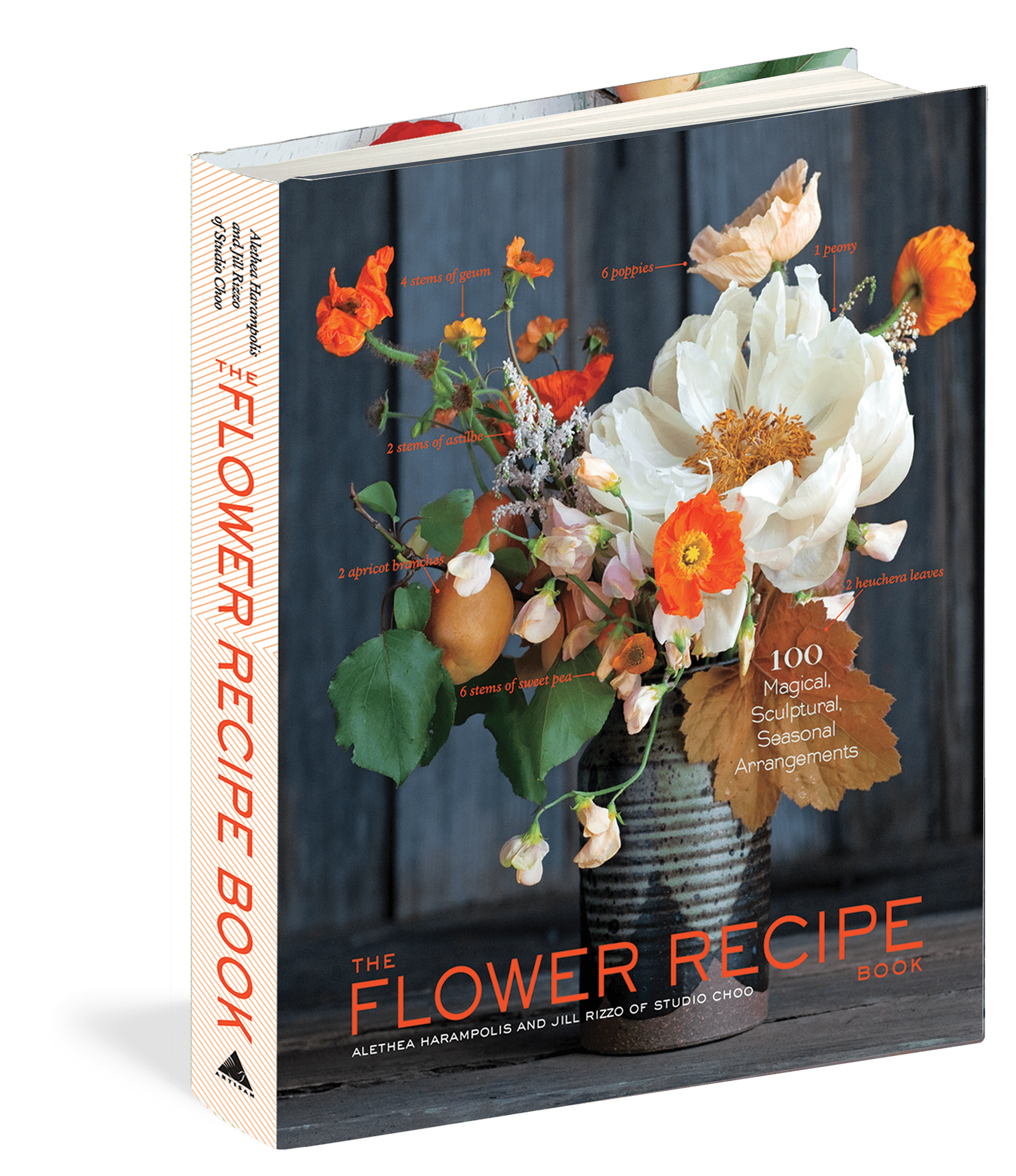 Flower Recipe Book by Alethea Harampolis & Jill Rizzo read study in the pursuit