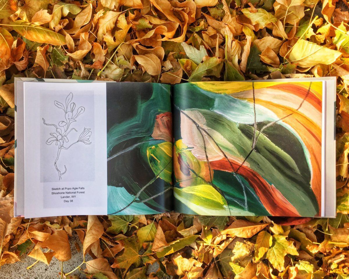 Wonderland Elisa Gomez art abstract study home dwell