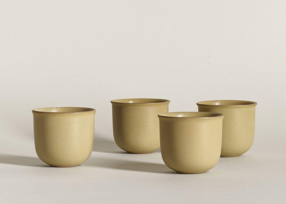 Brave Matter Ochre handmade in the pursuit ceramic pottery